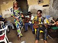 Bakolo Music International, the oldest traditional congolese rumba music group during a rehearsal In Kinshasa.jpg