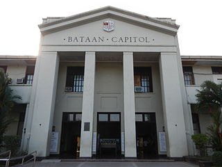 Bataan Province in Central Luzon, Philippines