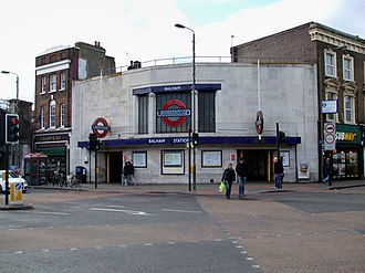 Balham station - West building