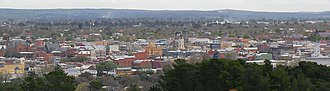 Ballarat - Image: Ballarat panorama from black hill