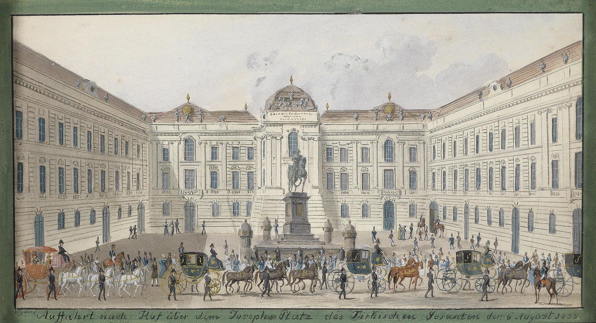 Бальтазар Виганд Йозефсплац 1835.jpg
