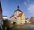 Bamberg Altes Rathaus BW 2 cropped.JPG