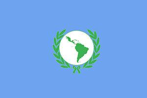 Latin American Parliament - Image: Bandera Parlamento Latinoamericano