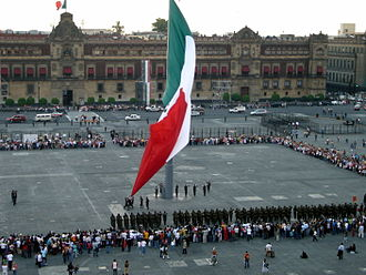 Plaza - The Zócalo (officially Plaza de la Constitución) has been the central gathering space of Mexico City since Aztec times.