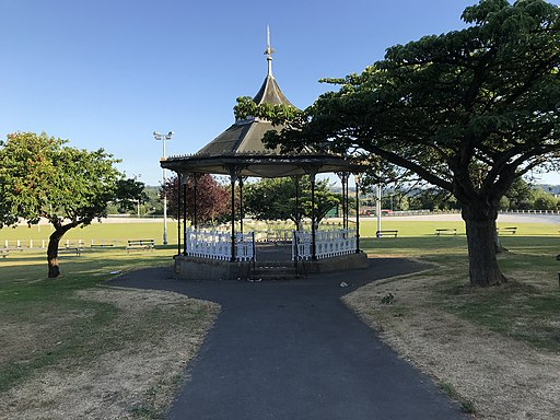 Bandstand in Carmarthen Park