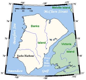 Banks Island - Closer look at Banks Island