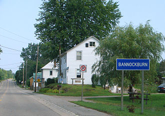 Ontario Highway 62 - Highway 62 passing through Bannockburn