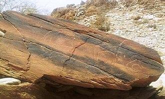 Bareq - Petroglyphs in Saban, Bareq.
