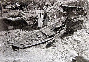 Abydos boats - Solar bark for Sesostris III, 12th Dynasty 1878–1839 BC