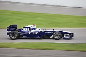 Williams FW32 - Image: Barrichello Canadian GP 2010
