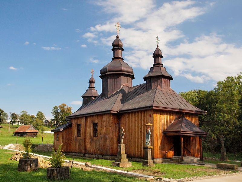 File:Bartne - Lemko Orthodox Church of St. St. Cosma and Damian no. 2.JPG