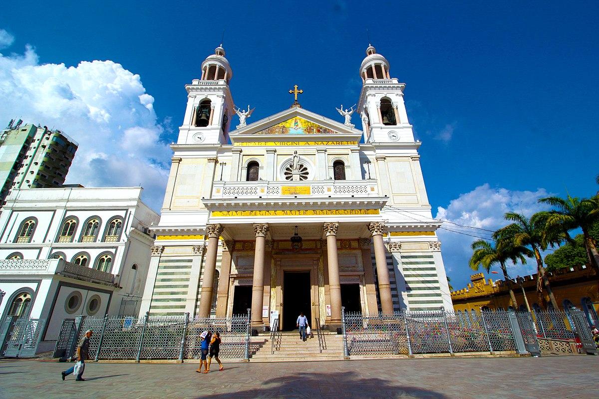 Resultado de imagem para Basílica Santuário da Nossa Senhora de Nazaré
