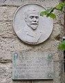 Bas-relief et plaque, square Laurent-Prache, Paris 6e.jpg