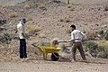 Basij militia of Iran بسیجیان در حال فعالیت در مناظق محروم ایران 04.jpg