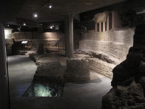 Synod of Milan - Ruins of the Basilica Maior where was held the 355 synod