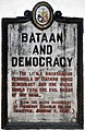 Bataan and Democracy historical marker.jpg