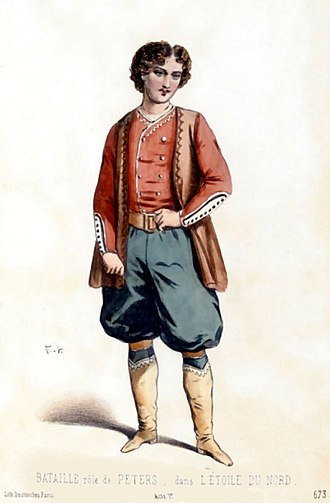 L'étoile du nord - Charles-Amable Battaille as Peters Michaeloff