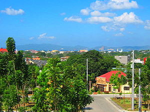 Batangas City - View of Poblacion, Batangas City, from Gulod Labac