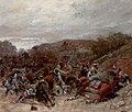 Battle Scene from the Franco-Prussian War-Wilfrid Constant Beauquesne-1896.jpg