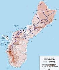guam karta Slaget vid Guam (1944) – Wikipedia guam karta