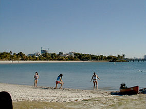 Beach at Oleta River State Park.jpg