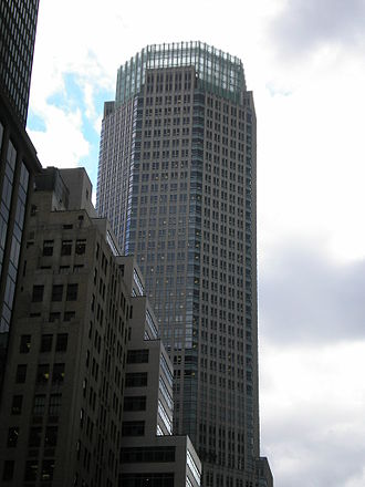 Bear Stearns - Bear Stearns' former offices at 383 Madison Avenue