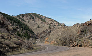 Bear Creek Canyon Scenic Mountain Drive United States historic place