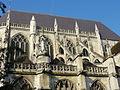Beauvais (60), église Saint-Étienne, chœur, parties hautes, côté nord.JPG