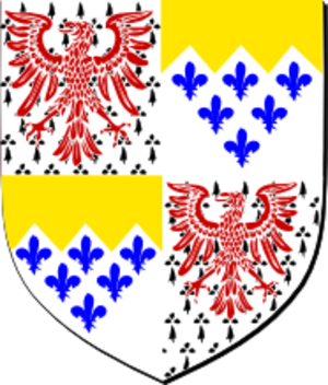 Henry Paston-Bedingfeld - Coat of arms of Sir Henry Paston-Bedingfeld