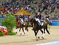 Beijing2008 eq medal Dressage Team 04.JPG