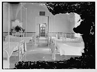 Beirut Hospital ward room LOC matpc.06121.jpg