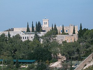 Highway 38 (Israel) - Beit Jimal Monastery
