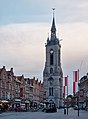 Belfry of Tournai during golden hour (DSCF8266).jpg