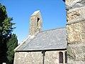 Bell gable of Eglwys Sant Aelhaearn - geograph.org.uk - 249100.jpg