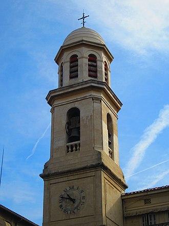 Église Notre-Dame-du-Mont - Image: Bell tower ND du Mont Marseille