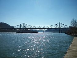 Bellaire on the Ohio River