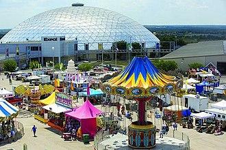 Belton, Texas - Bell County Fair in Belton, TX.