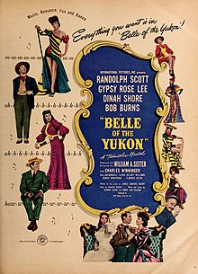 Description de l'image Belle of the Yukon. A Technicolor Musical, 1944.jpg.