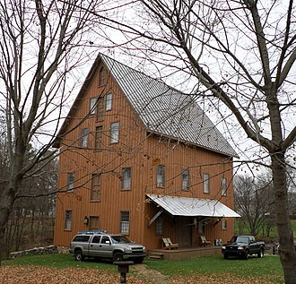 National Register of Historic Places listings in Eaton County, Michigan - Image: Bellevue Mill