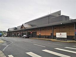 Bellingham International Airport, passenger terminal, June 2012