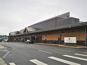 Bellingham International Airport - Image: Bellingham International Airport, passenger terminal, June 2012