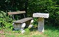Bench at the glacis of Eggenburg 02.jpg