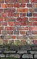 Benchmark on western wall of Albert Dock.jpg