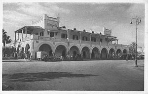 Italian Libya Railways - Image: Benghazi Central Station