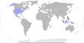 Benigno aquino travel map.png