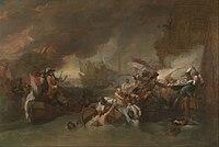 Benjamin West - The Battle of La Hogue - Google Art Project.jpg