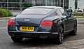 Bentley Continental GT V8 (II) – Heckansicht (4), 5. April 2012, Düsseldorf.jpg