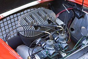 Berkeley Cars - Berkeley SA328 Excelsior engine