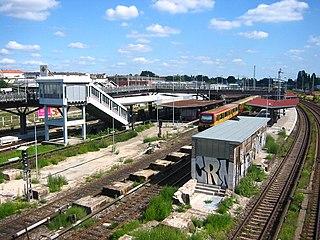 Berlin Warschauer Straße station S-Bahn station in Berlin, Germany