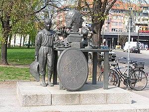 Adolph Diesterweg - Statue to Diesterweg